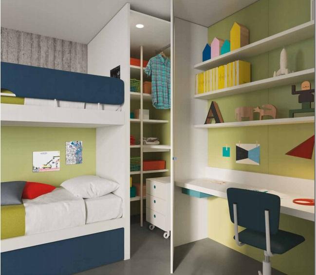 Progettare Cameretta Bambini ~ Idee per interni e mobili