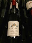 2013 Abbey Ridge Pinot noir label