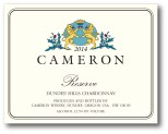 2014 Cameron Reserve Chardonnay label