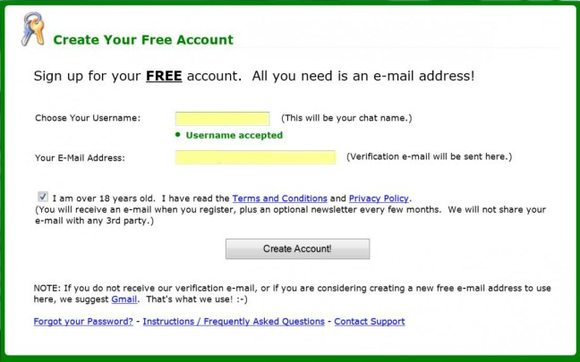 myfreecams premium accounts