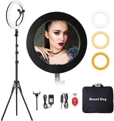 camming ring light