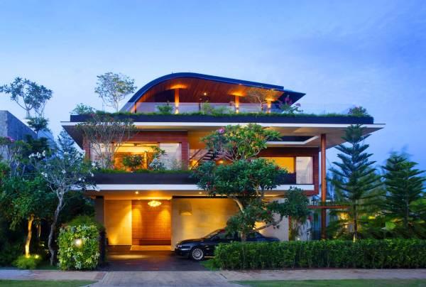 sky garden house The Green Sky Garden House by Guz Architects Studio