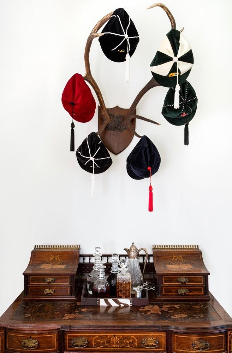 camilla bellord interiors Desk-with-Hats Portfolio