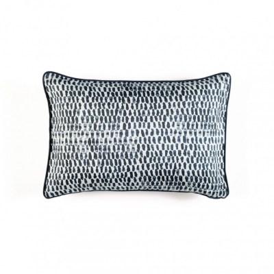 Soria Noir Silk Cushions