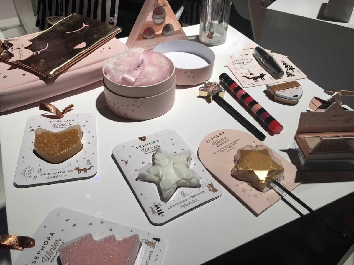 Sali Da Bagno Sephora : Novita makeup e beauty natale 2017: sephora press day camilla