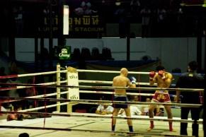 Muay Thai at the old Lumpinee Boxing Stadium