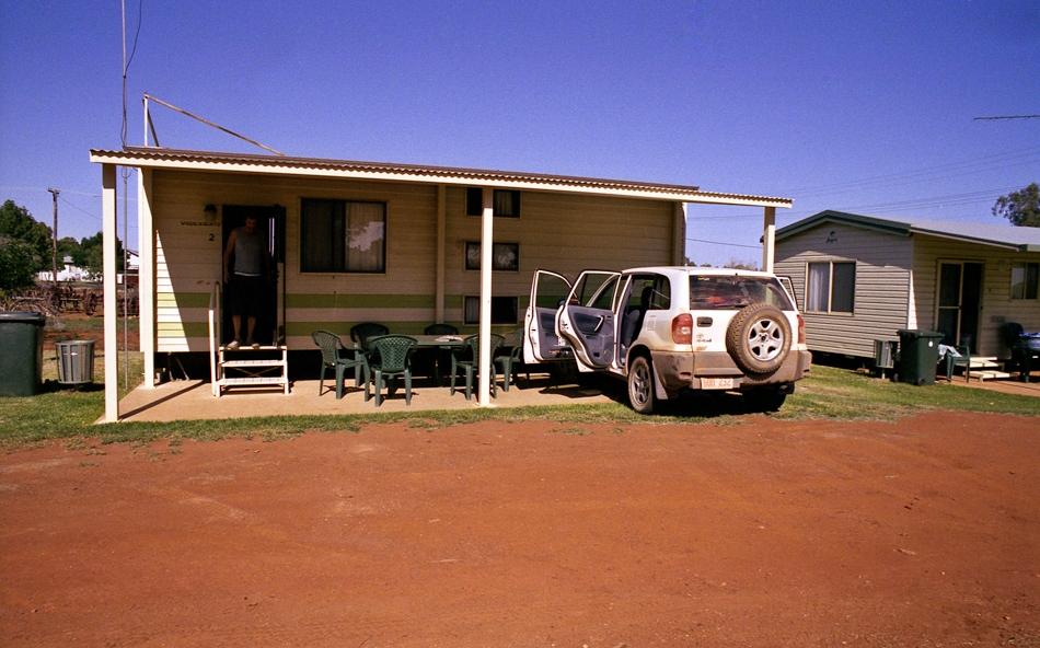 Caravan Park Lake Cargelligo, Outback, Australia