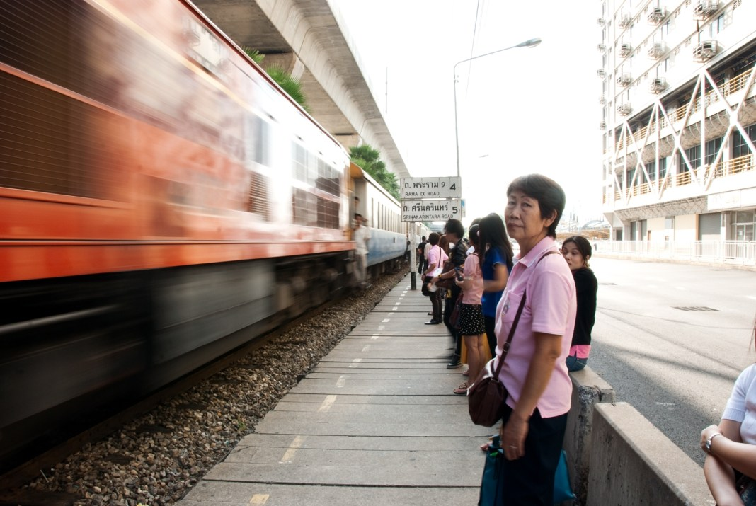 Aday.org commuters in Bangkok