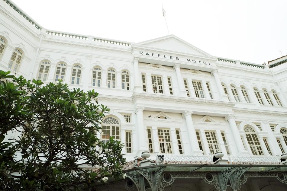 Historic Raffles in Singapore
