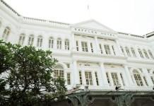 The Raffles Hotel in Singaporec