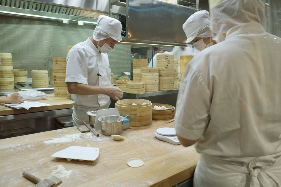 """Dinner at """"Din Tai Fung"""" in the Marina Bay Complex and Casino"""