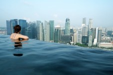 "Marina Bay Sands Hotel ""Infinity Pool"""