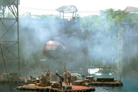 the Universal Studios in Singapore