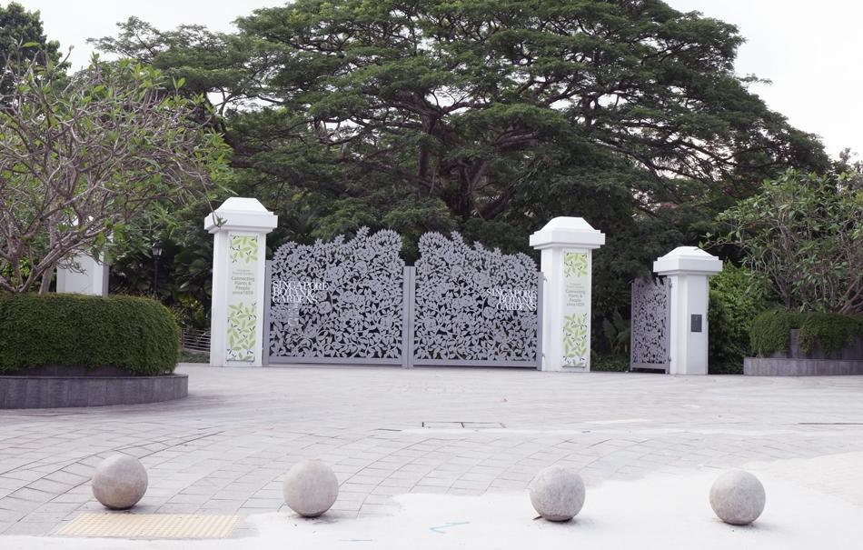 The Botanic Gardens in Singapore