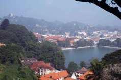 view over kandy Lake