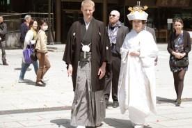 Wedding at the meji shrine