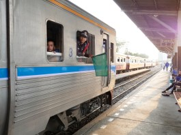 Kanchanaburi death raiway train