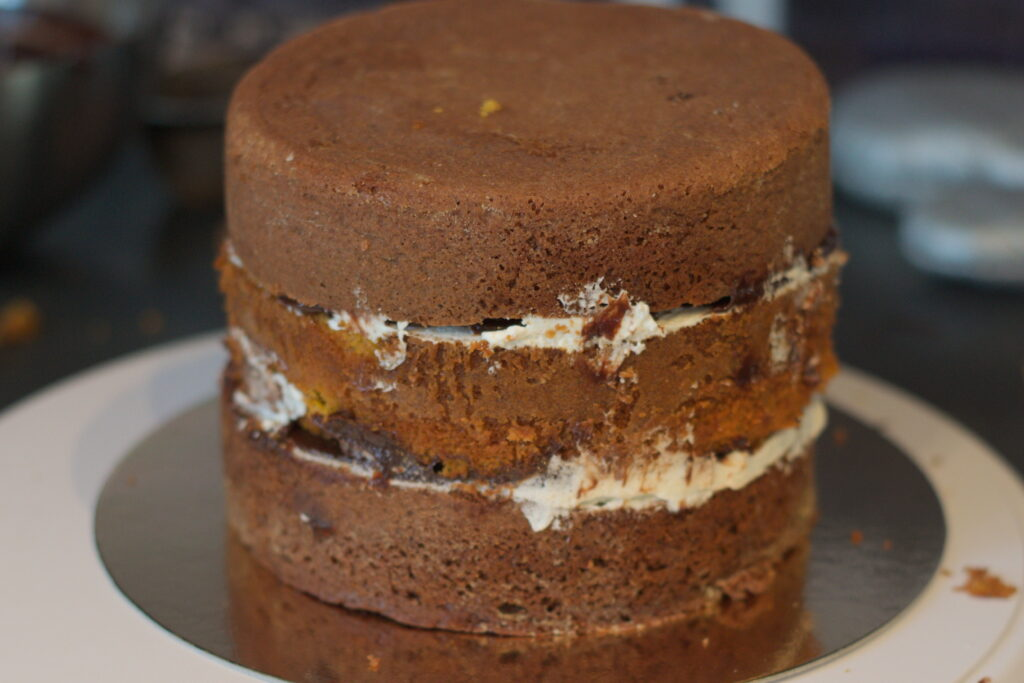layer cake chocolat potimarron