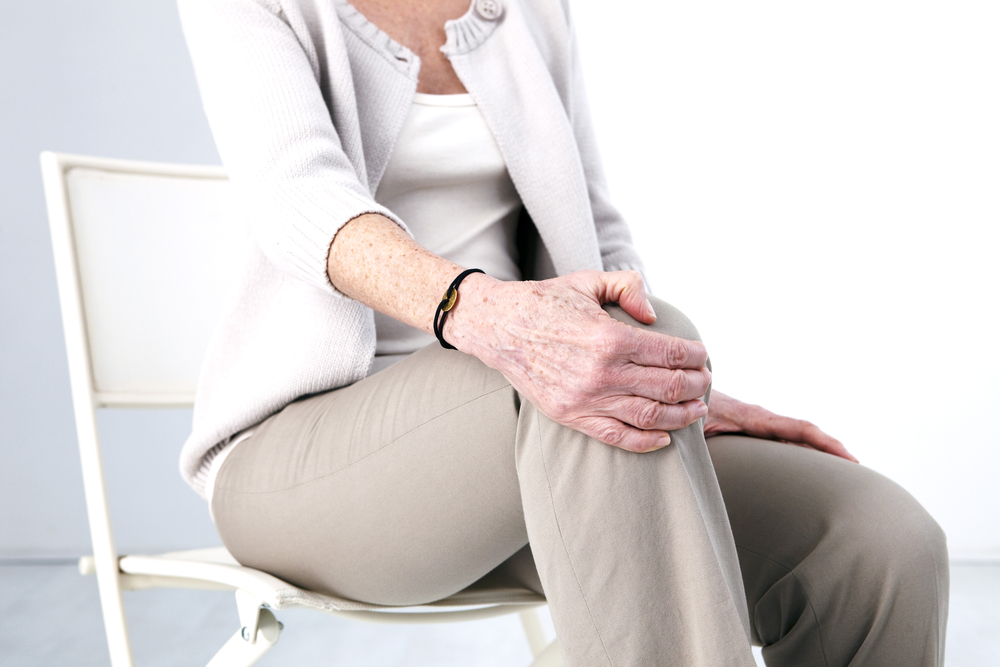 Knee Pain In An Elderly Person