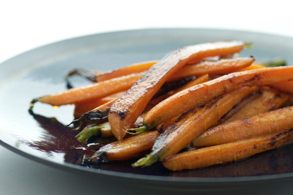 10 Minute Pan Seared Carrots