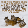 Help Idaho's Wolves