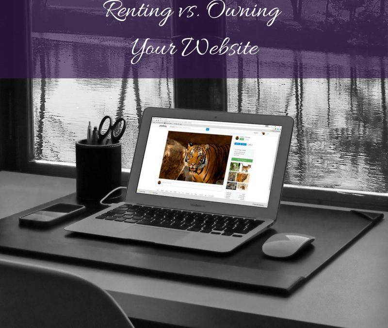 Websites:  Should You Rent or Own Your Site?