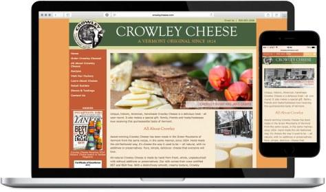 Crowley Cheese - Website