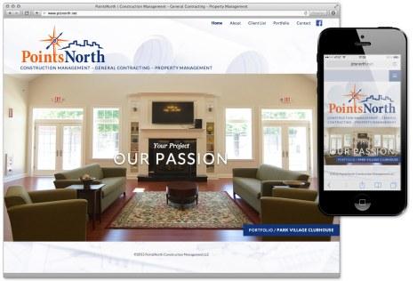 PointsNorth - Website