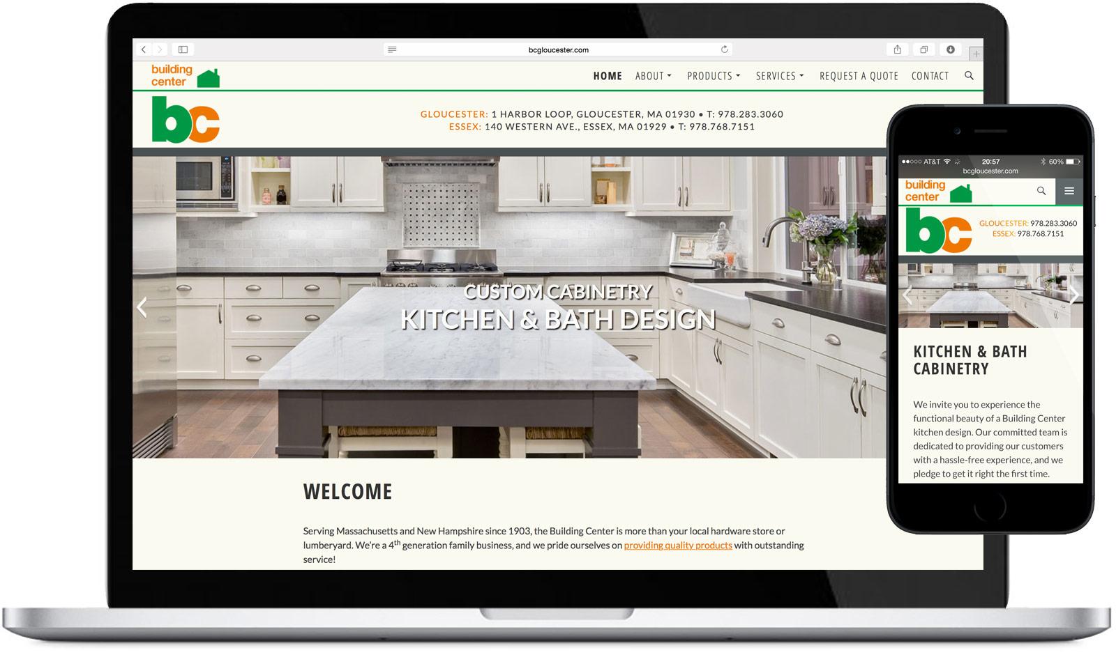 Building Center Website