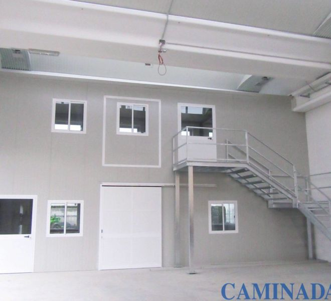 uffici prefabbricati due piani