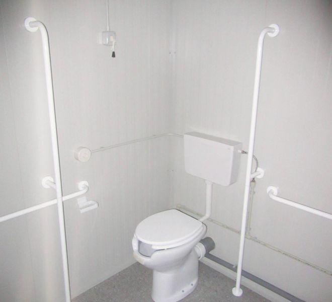 box prefabbricato Servizi Igienici Per Disabili