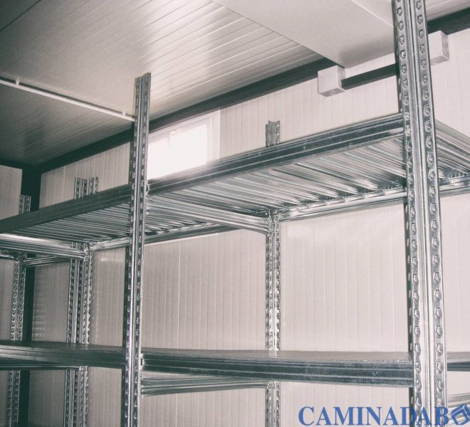 magazzini prefabbricati scaffalature su misura