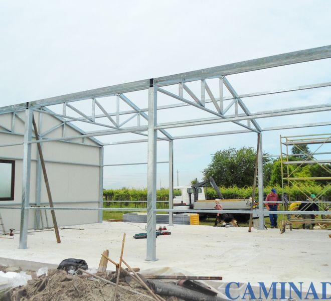 costruzione box prefabbricato