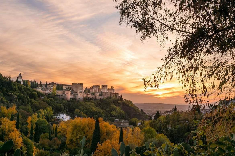 Fin de semana en Granada. Paisaje