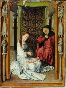 Natividad. Rogier Van der Weyden