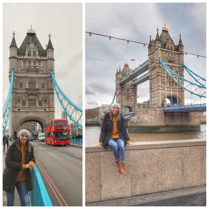 Tower Bridge o Puente de la torre. Ruta Londres dos días