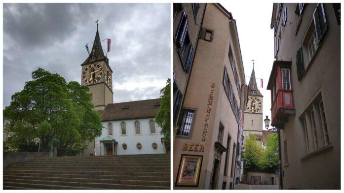 Iglesia de San Pedro. Que ver en Zurich