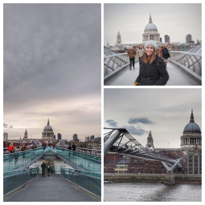 Millenium bridge. Ruta Londres dos días