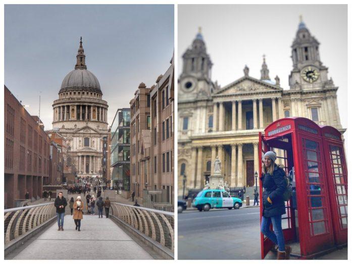 Catedral de Sant Pablo. Ruta Londres dos días