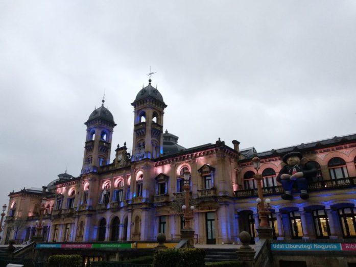Pais Vasco ruta en coche en tres días. Ayuntamiento San Sebastián
