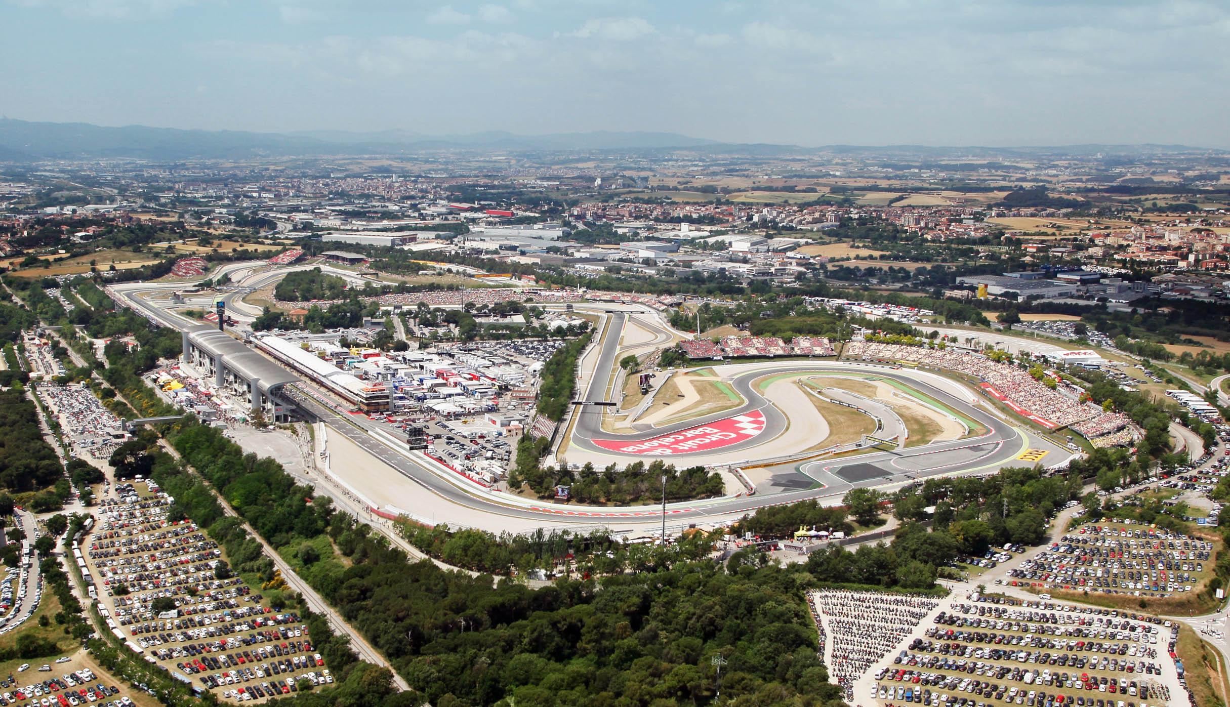 calendario circuit de Barcelona-Catalunya