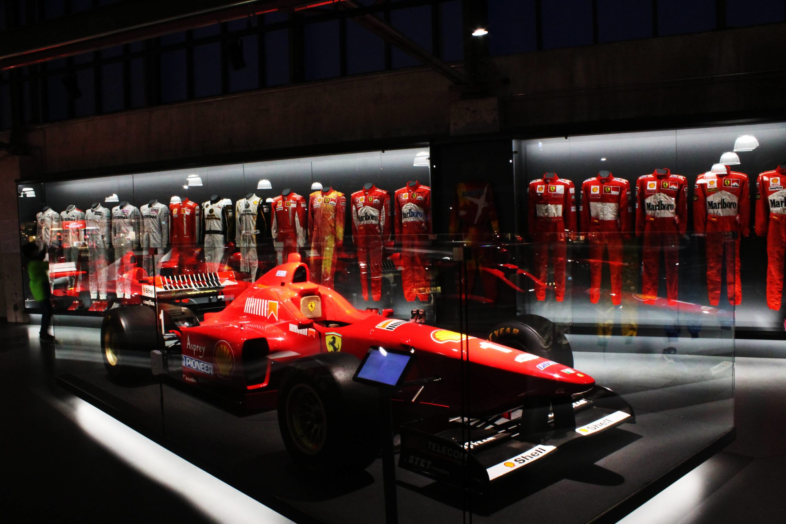 visita a la Michael Schumacher Private Collection