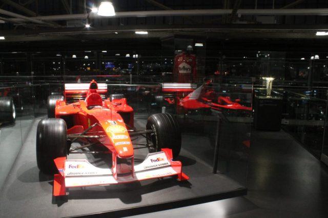 exposición Michael Schumacher