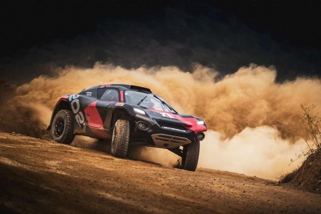 Extreme E competición eléctrica SUV