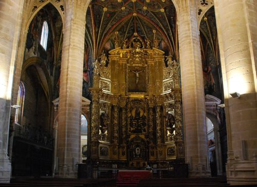 Logrono cathedral