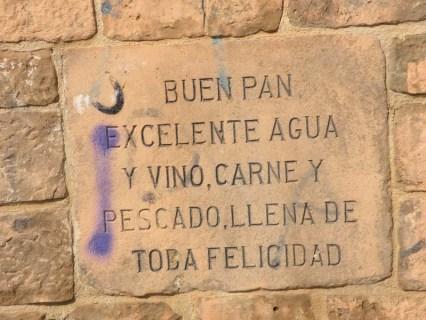 Cirauqui - Villamajor de Monjardin 11 Estella 03 fountain detail