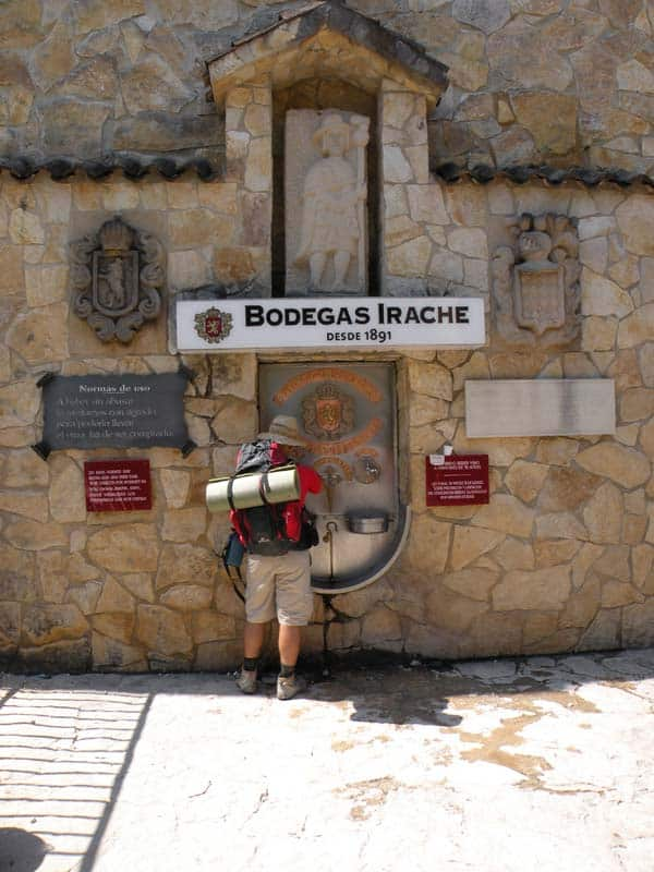 Wine Fountain Camino Frances Fuente de Irache