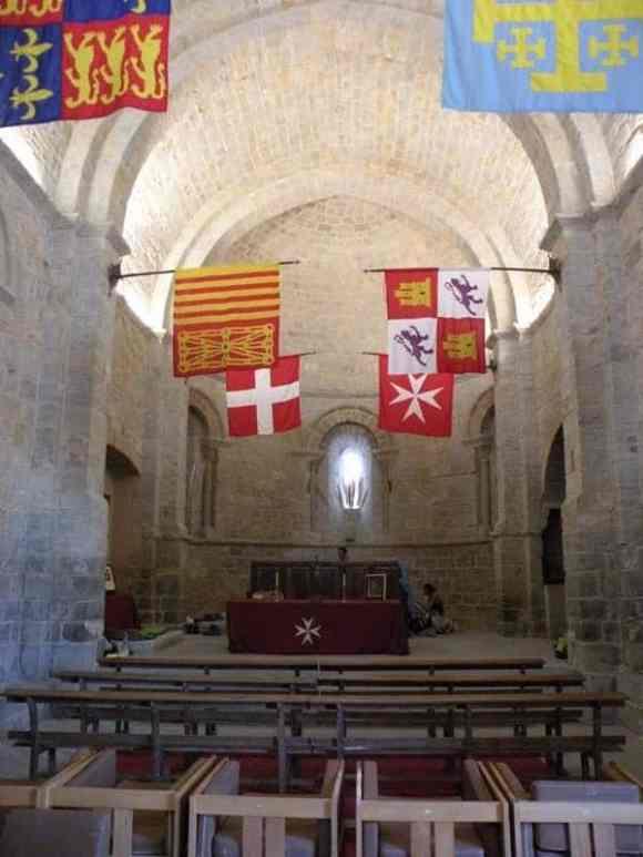 Cizur Minor 10 albergue 10 church part inside front vertical
