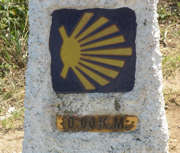 0 Km Marker at Finisterre