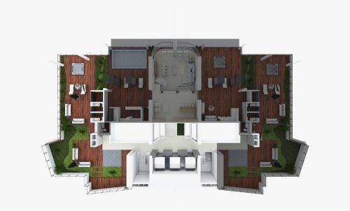 Segundo piso Penthouse